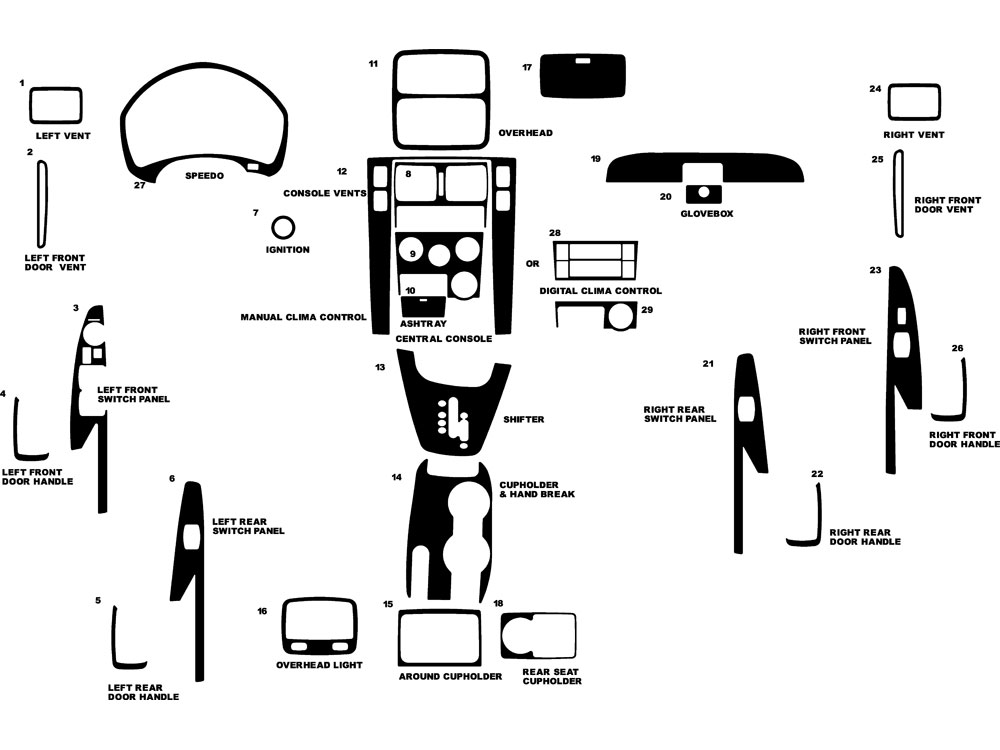 Service manual [2006 Hyundai Tucson Instrument Panel
