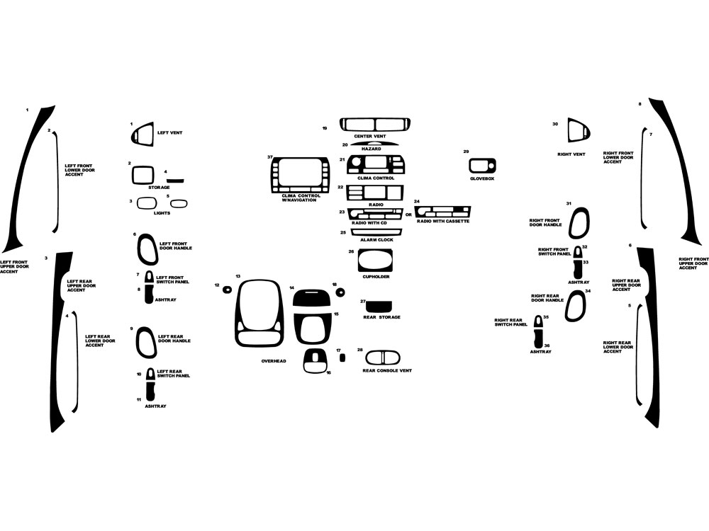 Service manual [2004 Jaguar X Type Dash Removal Diagram