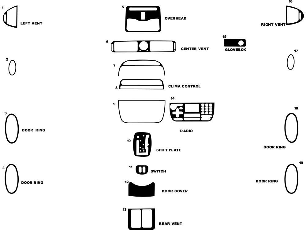 Service manual [1999 Jaguar Xj Series Dash Removal Diagram