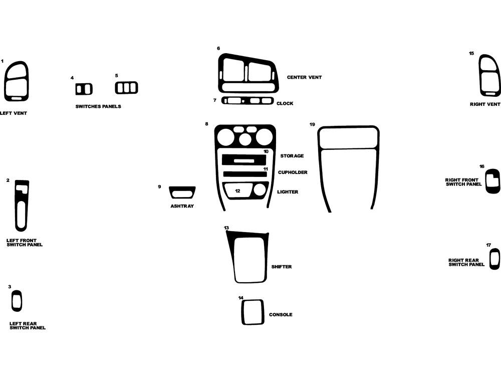 Service manual [1998 Mitsubishi Galant Remove Dashboard