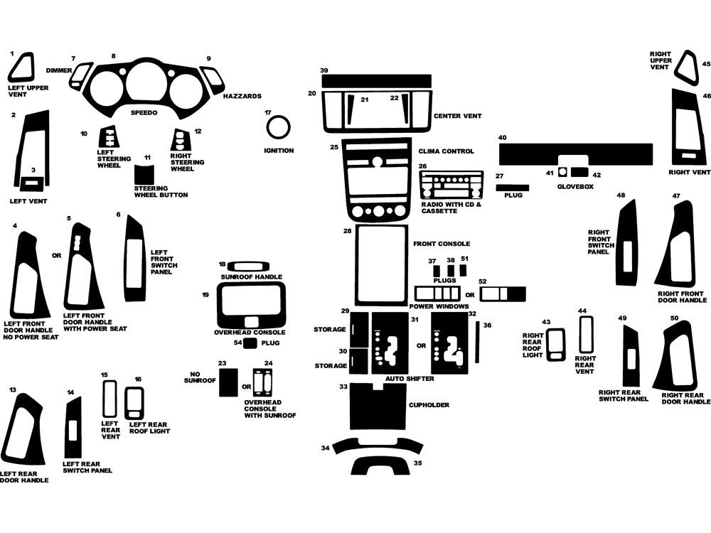 2003 Nissan Murano Engine Diagram