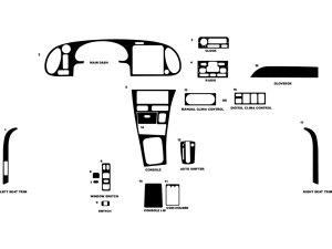 1997 Saab 900 Dash Kits | Custom 1997 Saab 900 Dash Kit
