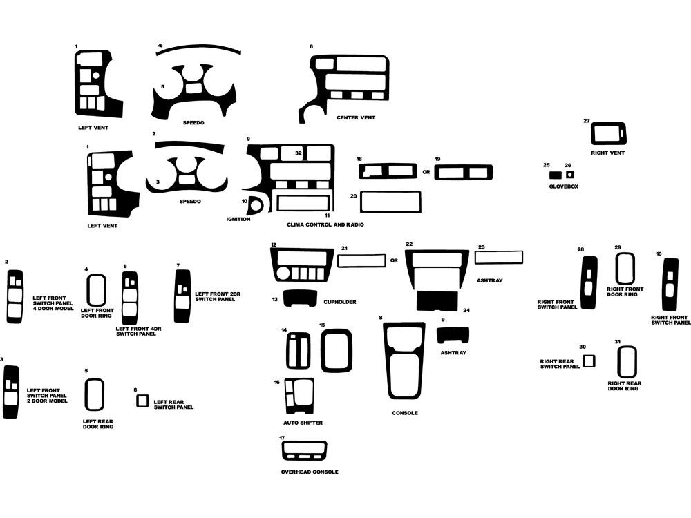 Interuor Toyota Rav4 Parts Diagram • Wiring Diagram For Free