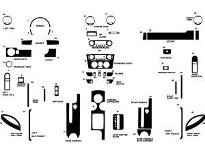 2001 Volkswagen Beetle Dash Kits | Custom 2001 Volkswagen Beetle Dash Kit