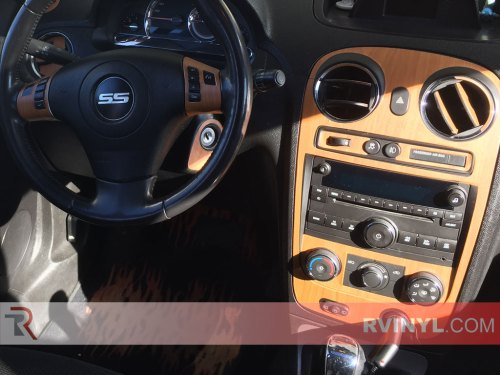small resolution of rdash 2008 2010 chevy hhr ss cherry wood dash kit center console