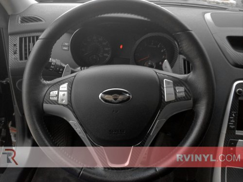 small resolution of hyundai genesis coupe 2010 2012 dash kits with carbon fiber steering wheel accents