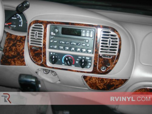 small resolution of ford f 150 regular cab 2000 2003 dash kits with a burl wood finish