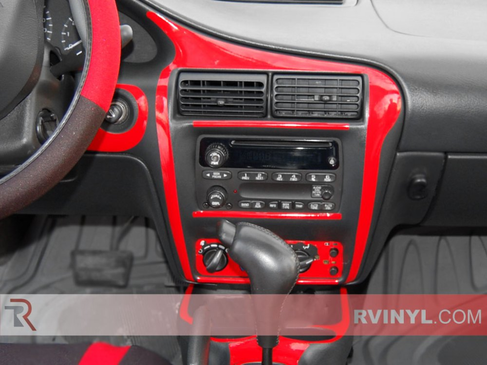 medium resolution of chevrolet cavalier 2000 2005 red dash kits