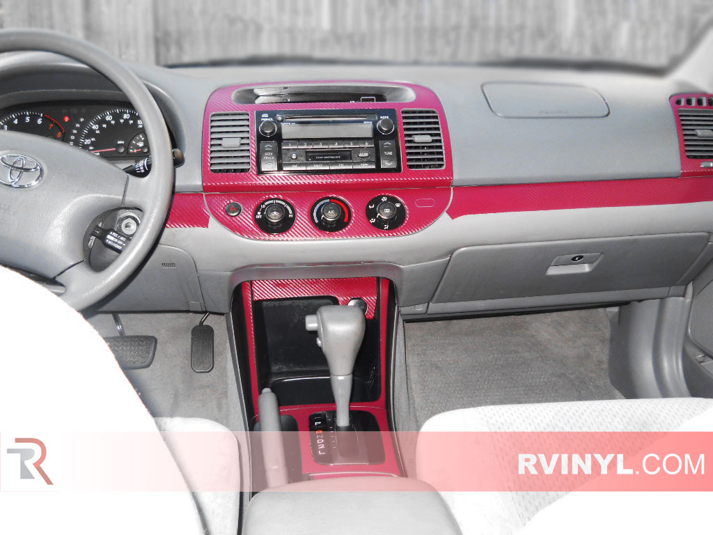 hight resolution of toyota camry 2002 2006 custom dash kits