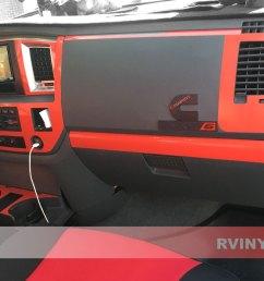 rdash 2006 2008 dodge ram 1500 dash kit gloss red [ 1024 x 768 Pixel ]