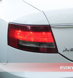 audi a6 sedan 2005 2008 tail light tints [ 1024 x 768 Pixel ]