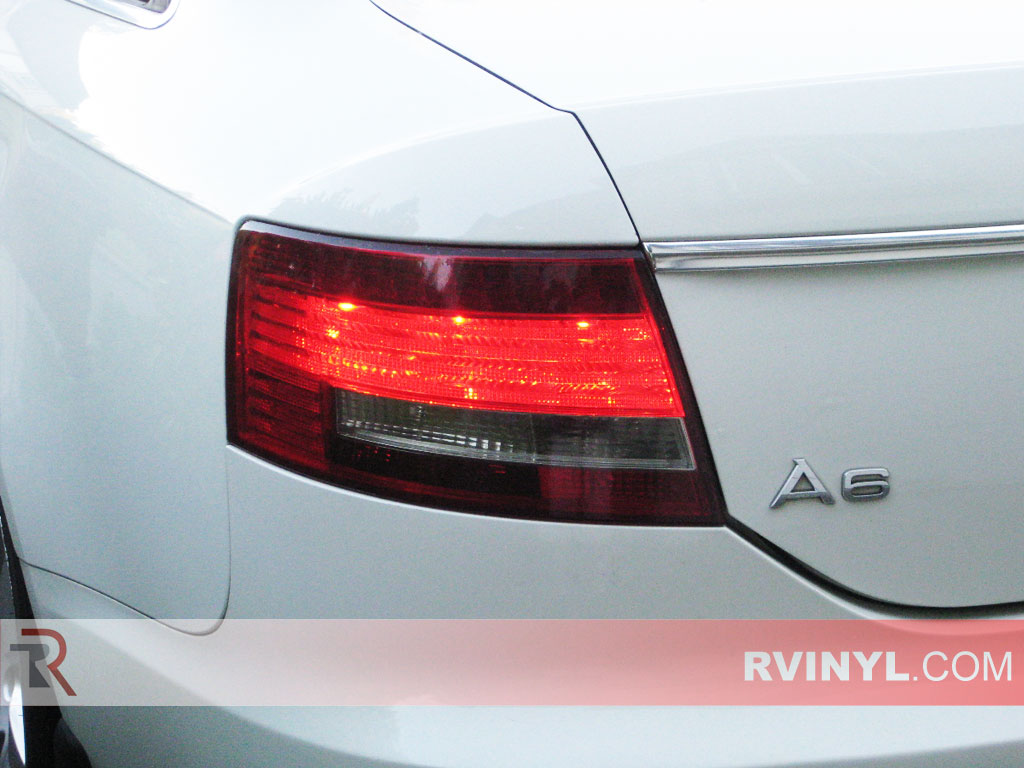 hight resolution of audi a6 sedan 2005 2008 tail light tints