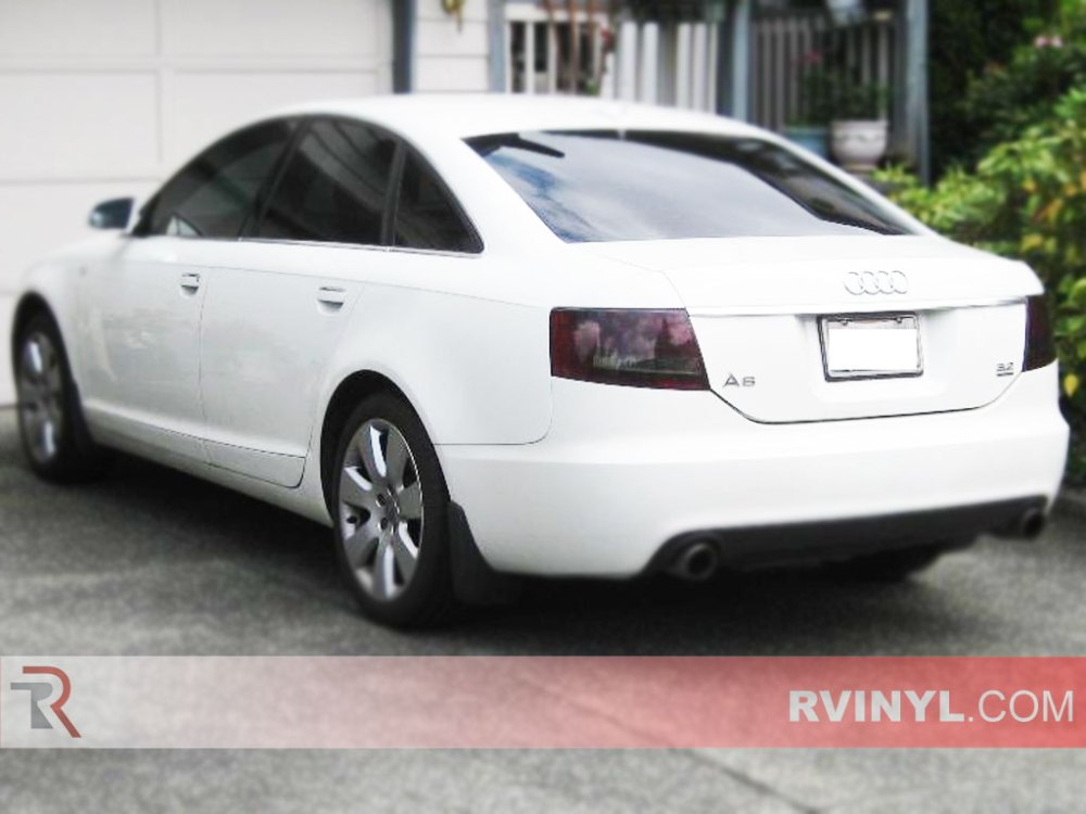 medium resolution of audi a6 sedan 2005 2008 smoked tail lights