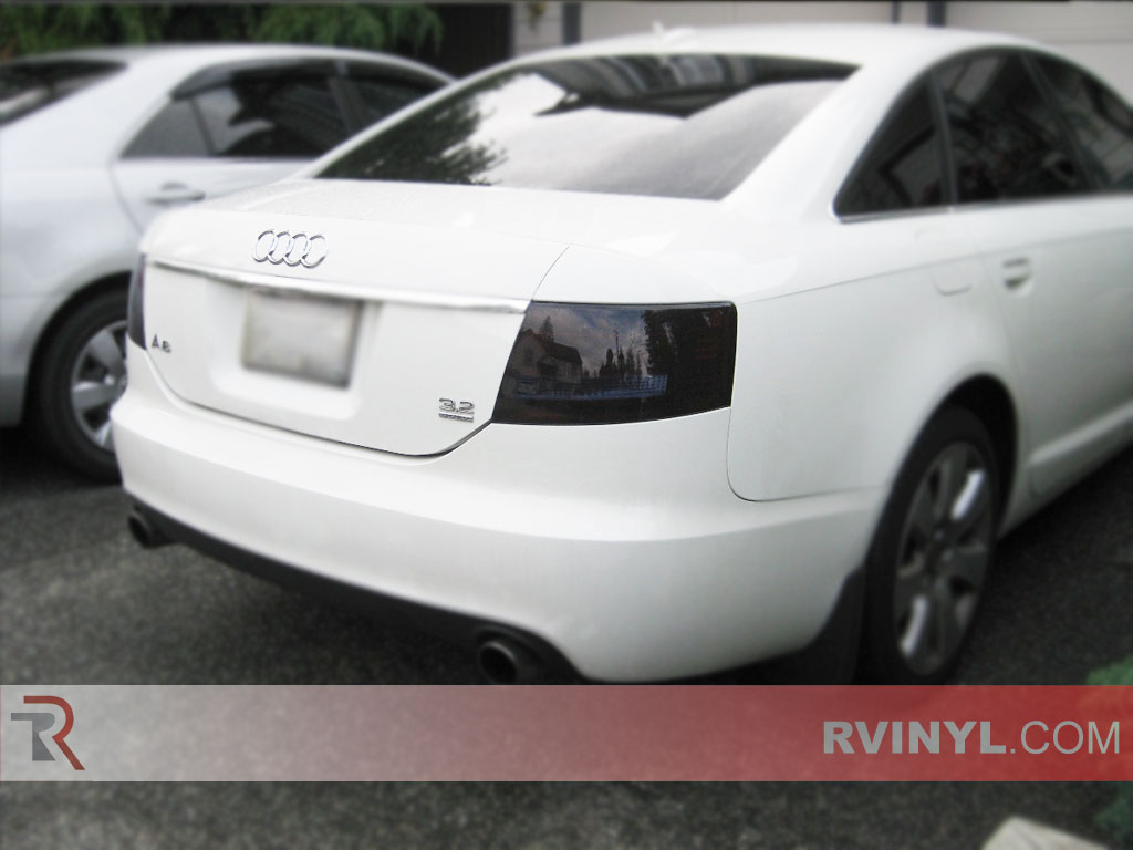 hight resolution of audi a6 sedan 2005 2008 blackout tail lights