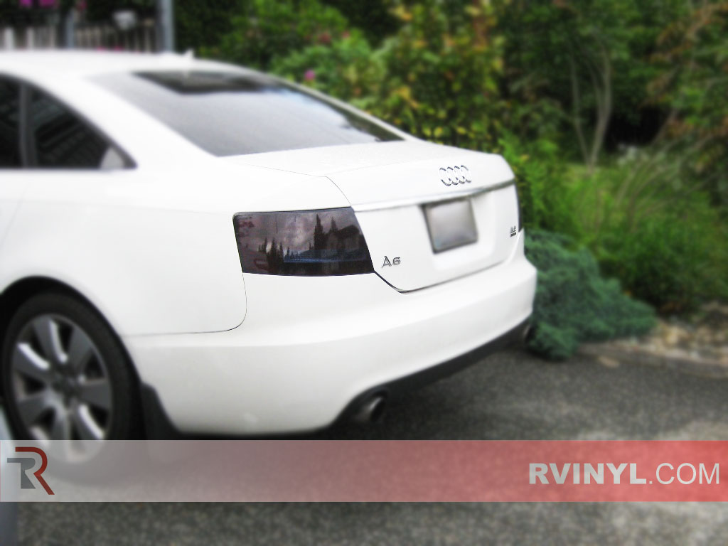 hight resolution of audi a6 sedan 2005 2008 tinted tail lights