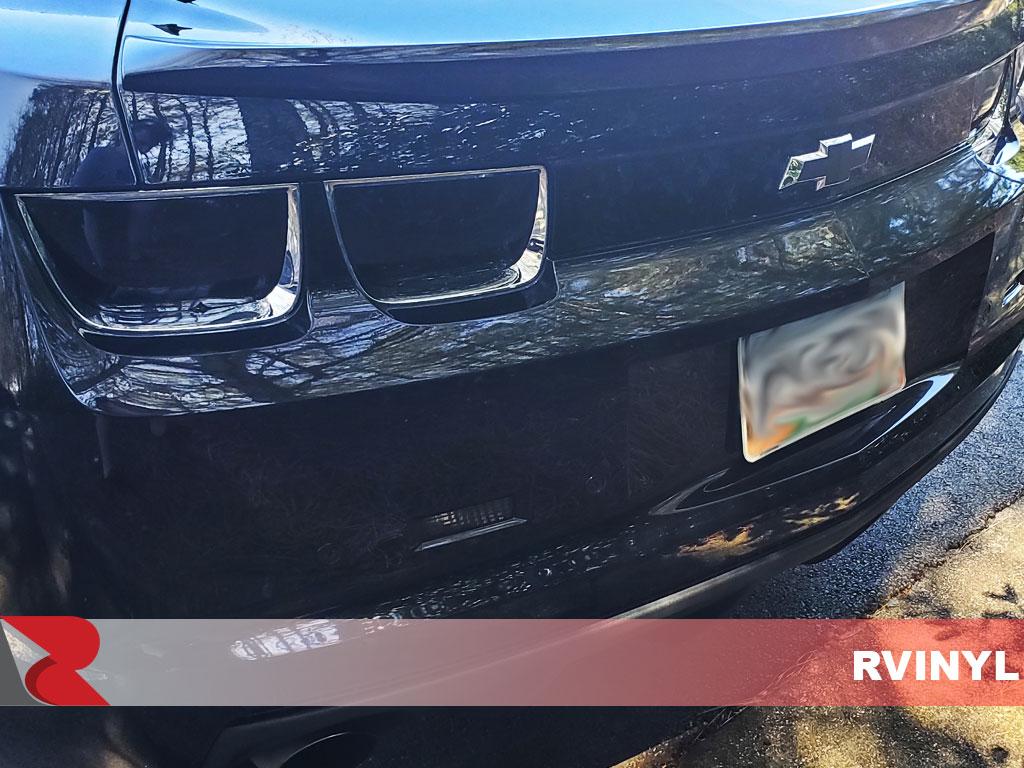 hight resolution of rtint 2010 camaro diy blackout smoke custom tail light tint kit