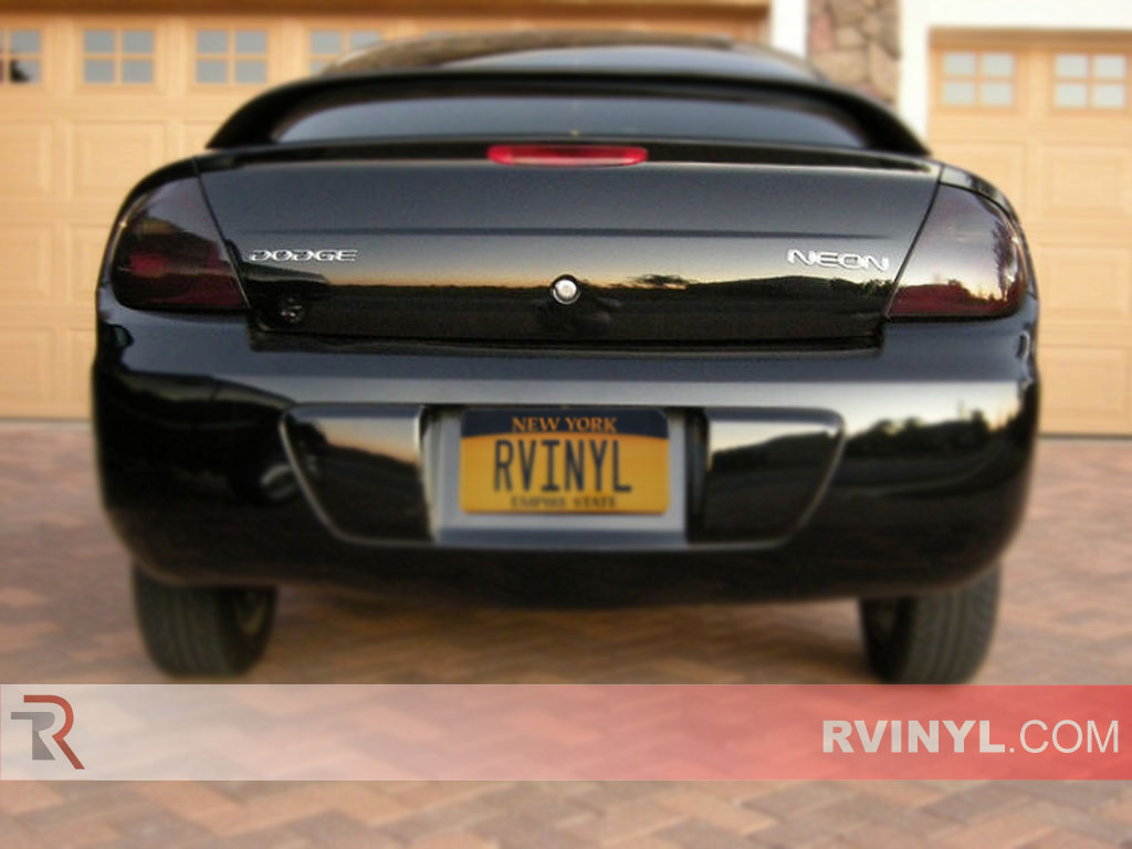 hight resolution of dodge neon 2003 2005 blackout tail lights