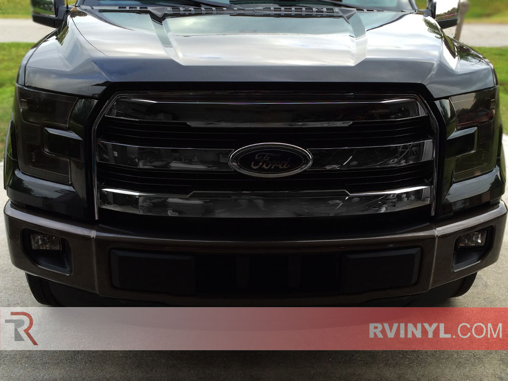 hight resolution of ford f 150 2015 2017 headlight covers