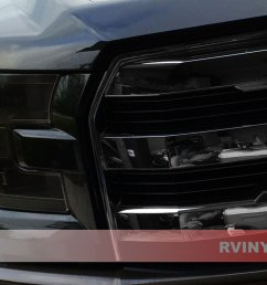 ford f 150 2015 2017 blackout headlights [ 1024 x 768 Pixel ]