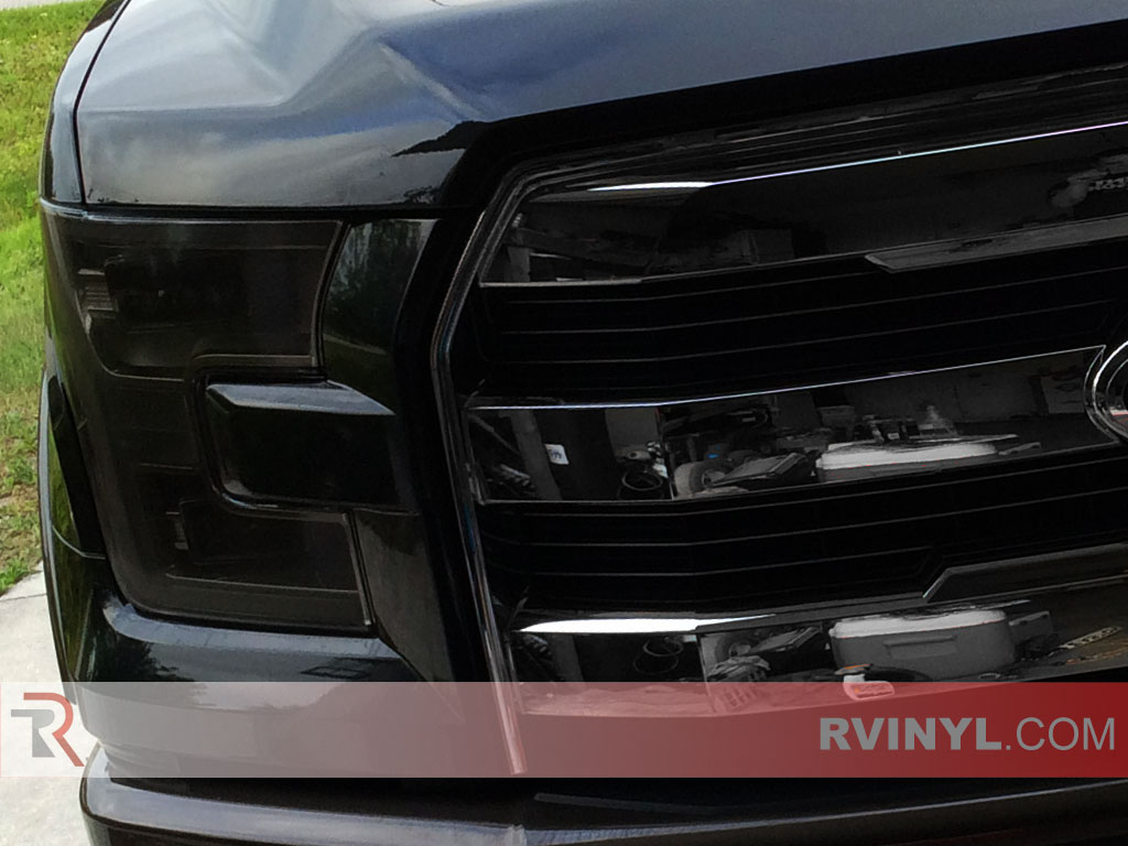 hight resolution of ford f 150 2015 2017 blackout headlights