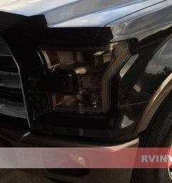 ford f 150 2015 2017 tinted headlights [ 1024 x 768 Pixel ]