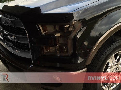 small resolution of ford f 150 2015 2017 tinted headlights
