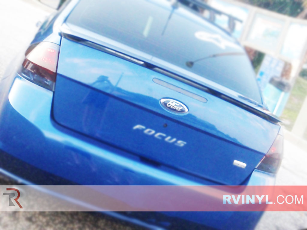 hight resolution of ford focus 2008 2011 blackout tail lights