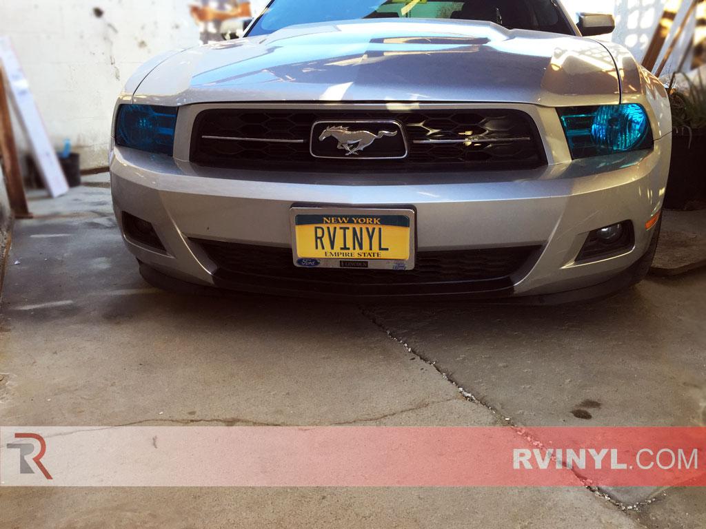 hight resolution of ford mustang 2010 2014 custom headlights
