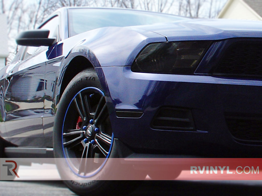 hight resolution of ford mustang 2010 2014 smoked headlamps