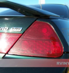 honda accord coupe 1998 2002 blackout tail lights [ 1024 x 768 Pixel ]