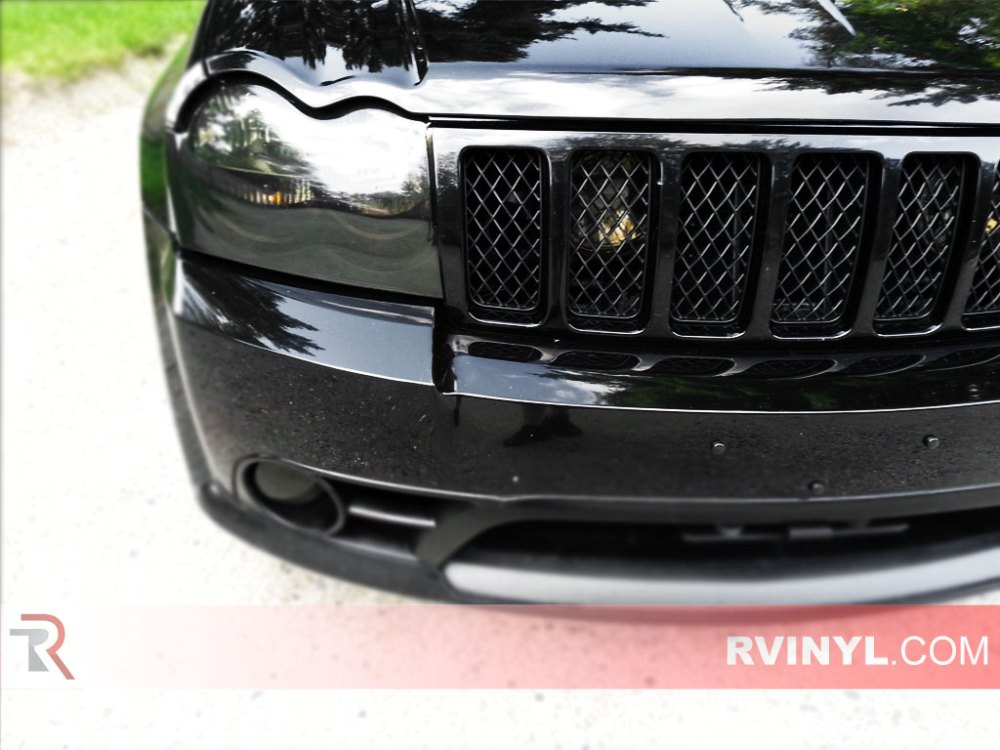 medium resolution of jeep grand cherokee 2005 2007 headlight tints