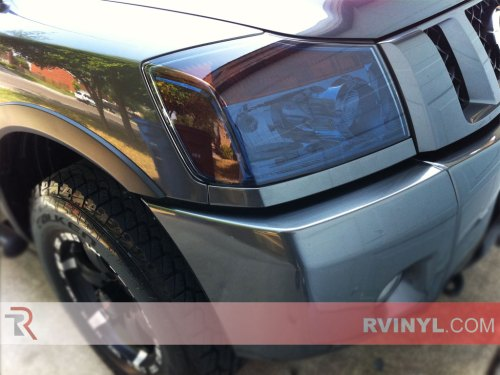 small resolution of nissan titan 2004 2015 tinted headlights