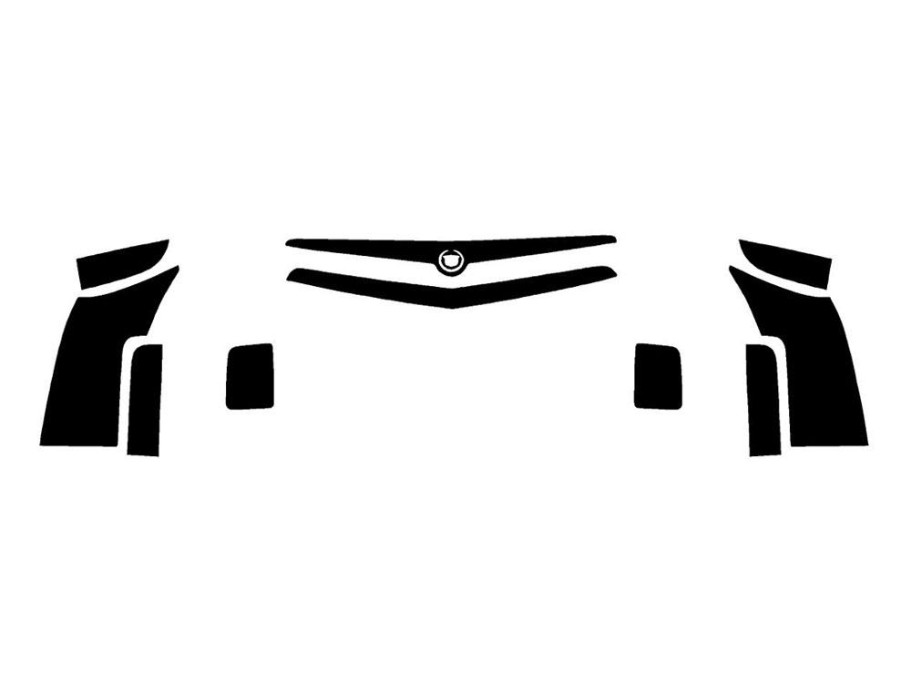 Rtint® Cadillac CTS 2003-2007 Tail Light Tint Film