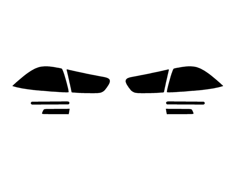 Rtint® Mitsubishi Lancer 2008-2015 Tail Light Tint|Film