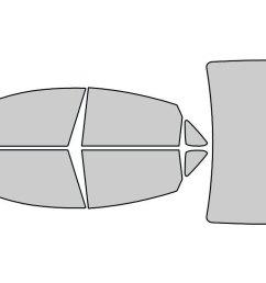 chrysler 200 2015 2016 window tint kit diagrams 10711200 2012 chrysler 200 radio [ 1024 x 768 Pixel ]