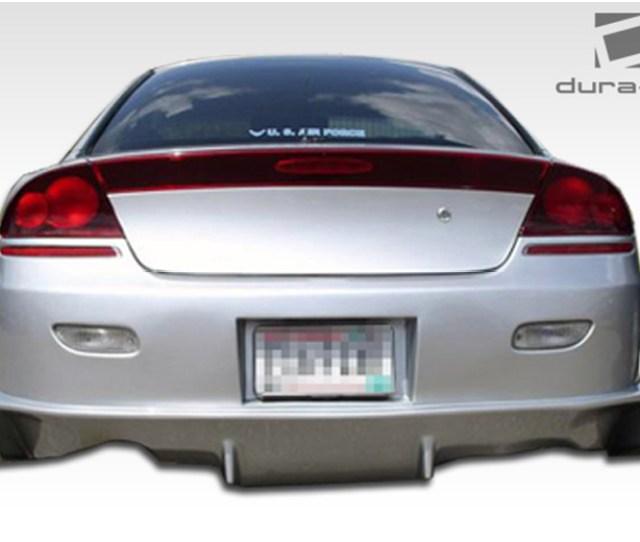 2001 Dodge Stratus Duraflex Viper Bumper Rear
