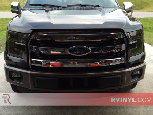 small resolution of stephen s 2015 ford f150 with smoke rtint headlight tints