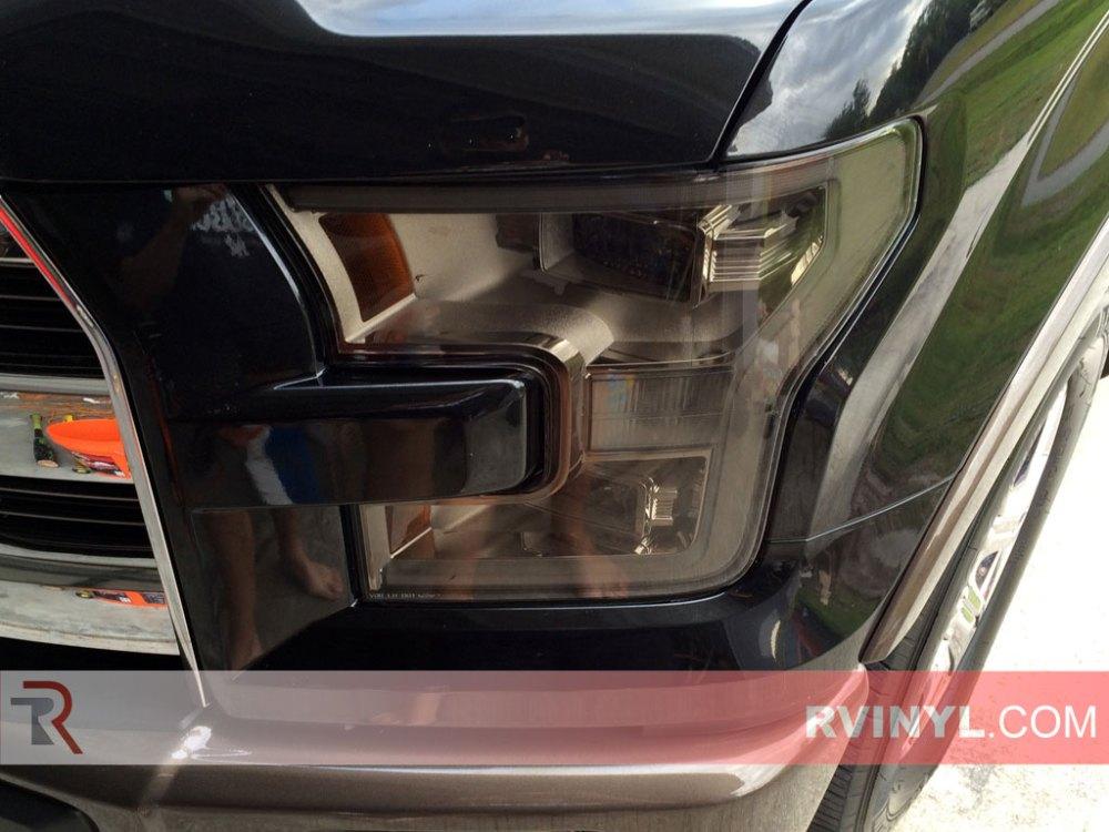 medium resolution of stephen s 2015 ford f150 with smoke rtint headlight tints