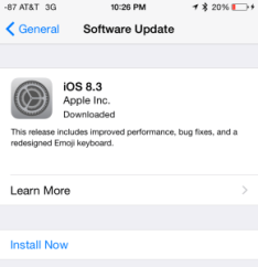 """If you see """"Downloaded"""" when you check the Settings App under """"General"""" and """"Software Update"""", your iOS device has already downloaded the update. Doh!"""