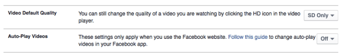 facebook browser video autoplay