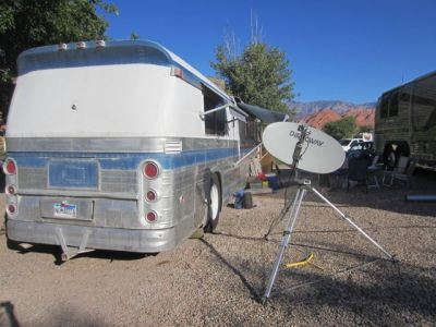 We used to love our tripod HughesNet satellite system, but it was only truly useful in a very few places.