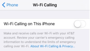 The latest iOS 9 beta reveals that WiFi calling is at last coming to AT&T customers!