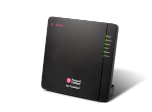 The T-Mobile 4G LTE CellSpot acts as a miniature LTE cell tower, making it easy to expand your coverage area.