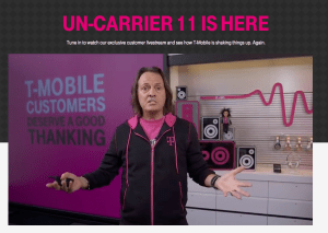 John Legere wants to help you hunt Pokemon.