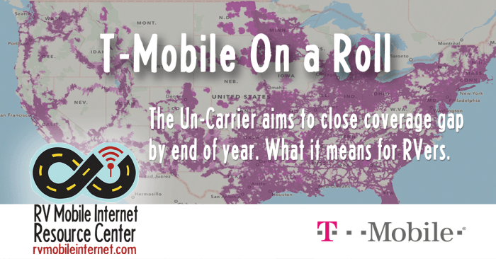 T-Mobile On A Roll: Aims to Close Coverage Gap This Year ...