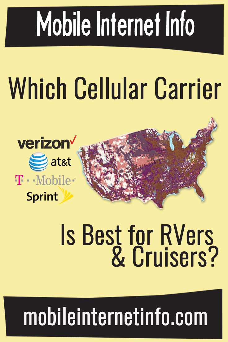 The Four Major Us Carriers Verizon Att T Mobile And Sprint