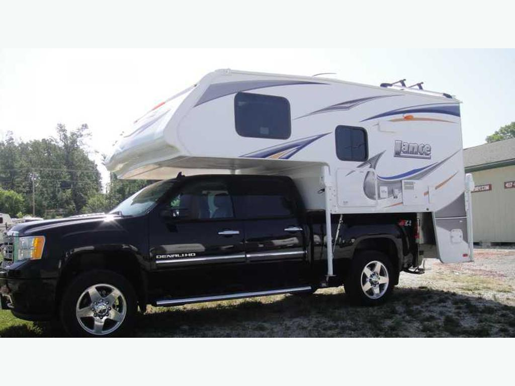 used lance truck campers for sale