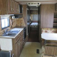 Kitchen Table And Chair Rocking Glider Chairs 1983 Holiday Rambler Imperial, Lakeland, Fl Us, $4,995.00, Stock Number 001338, Travel Trailers ...