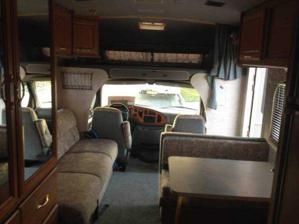rv air bed sleeper sofa macys leather 1999 fleetwood jamboree, fresno, ca us, 56000 miles ...