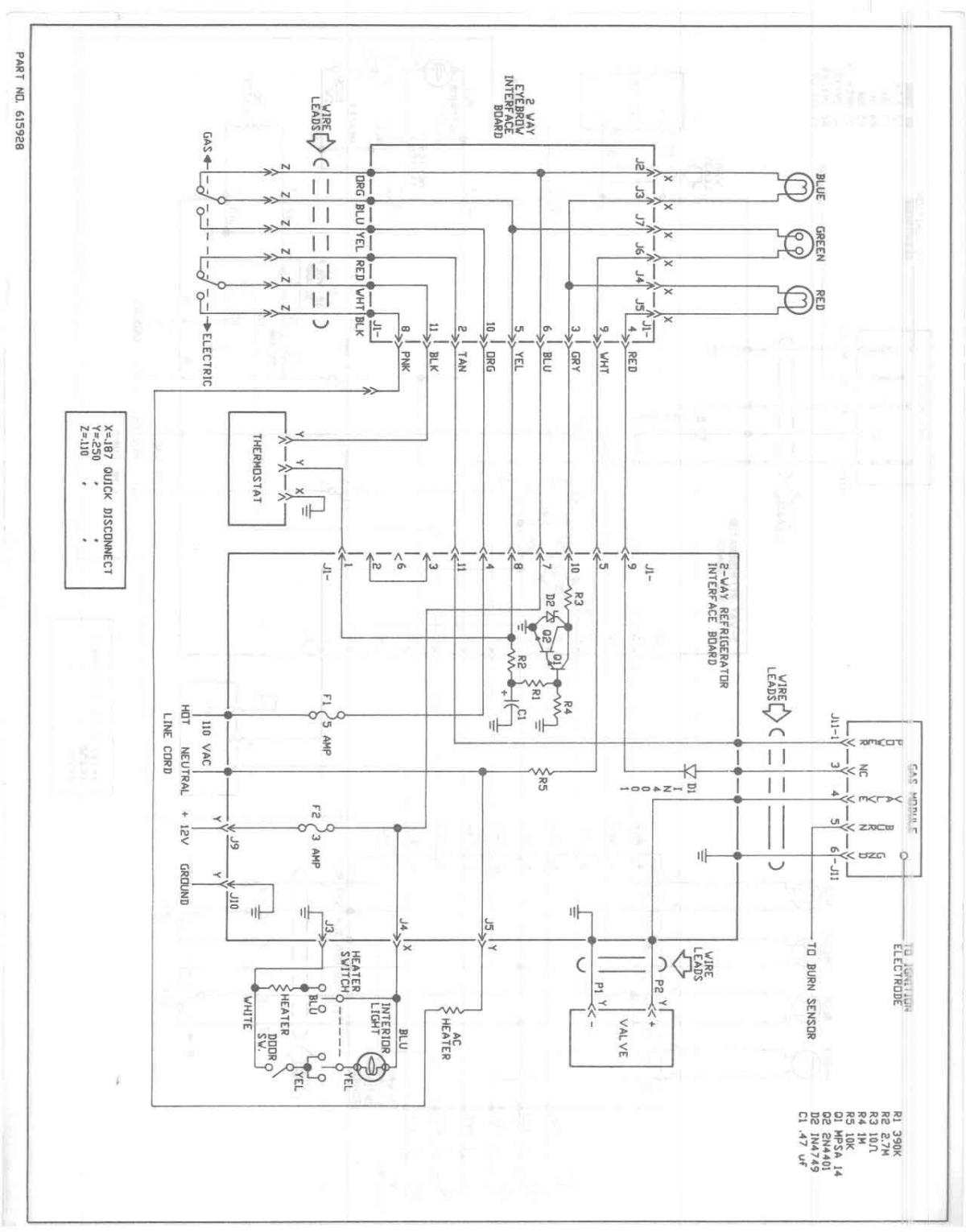 dometic refrigerator wiring diagram 2001 ford ranger fuel pump norcold rv 12